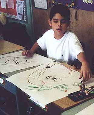 Student in Workshop Educational Program at Mexican Fine Arts Museum